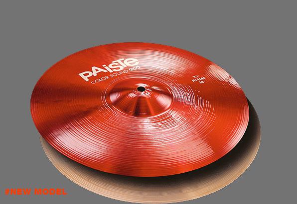"14"" Color Sound 900 Red Hi-Hat, Paiste"