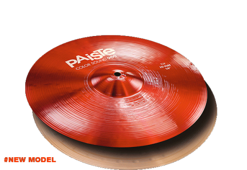 "14"" Color Sound 900 Red Hi-Hat, Paiste"