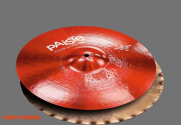 "14"" Color Sound 900 Red Sound Edge Hi-Hat, Paiste"