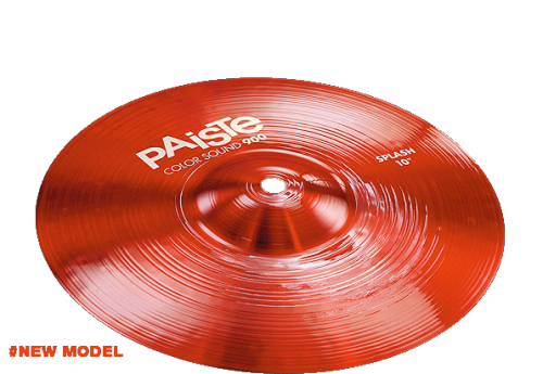 "10"" Color Sound 900 Red Splash, Paiste"