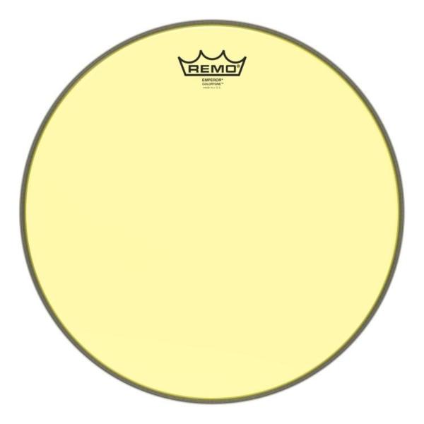 """10"""" Colortone Yellow Emperor pukskinn, Remo"""