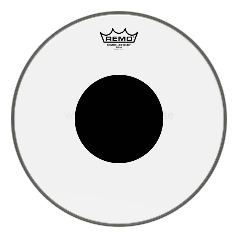 "12"" clear Controlled Sound, Remo"