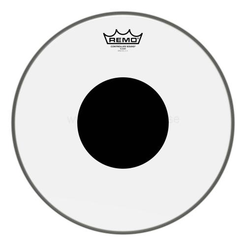 "10"" clear Controlled Sound, Remo"