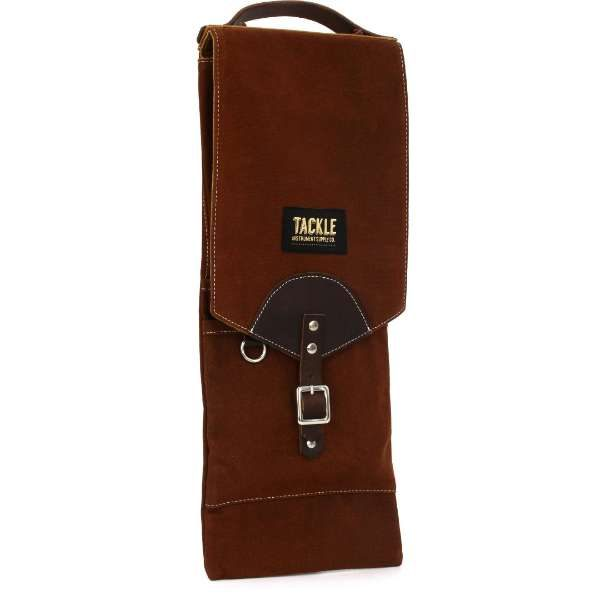 Tackle Waxed Canvas Compact Stick Case Brown