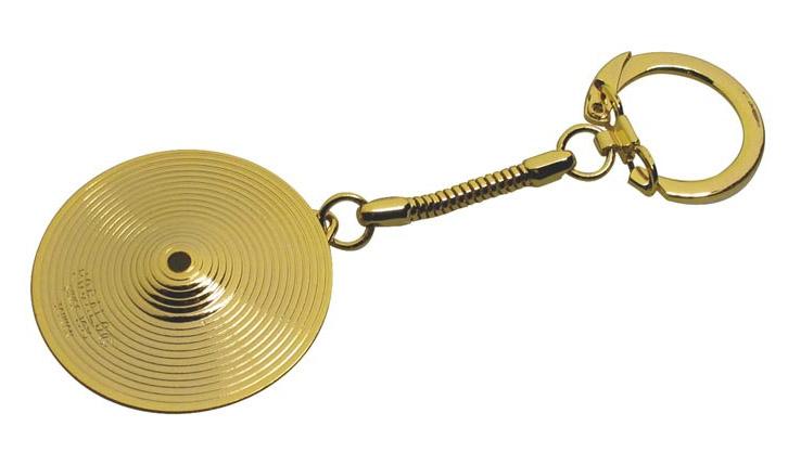 Nyckelring med mini-cymbal