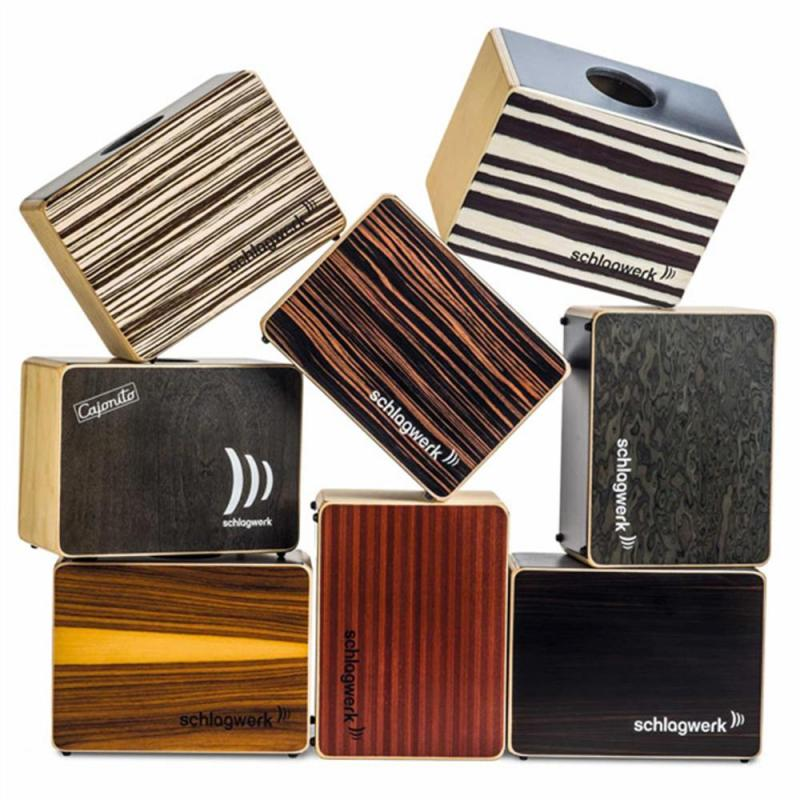 """Schlagwerk DC300S Cajonito """"surprise"""" – various material mix"""