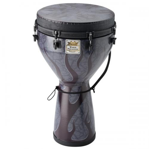 "Remo Designer Series Djembe 12x24"" -  Shadow Flame"