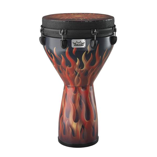 "Remo Designer Series Djembe 14x25"" -  Flame"