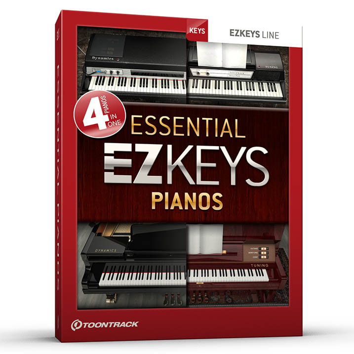 EZkeys Essential Pianos BUNDLE