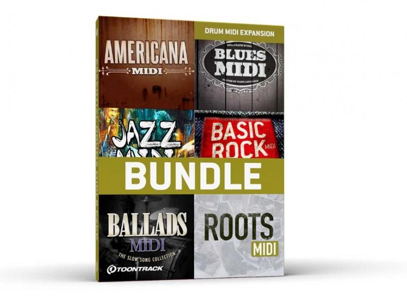 Drum MIDI 6 Pack Bundle