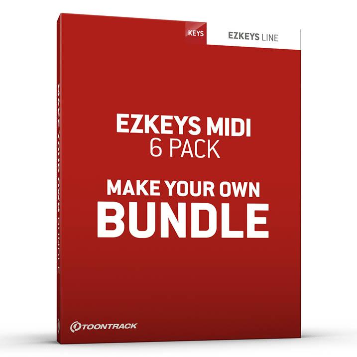 EZkeys MIDI 6 Pack Bundle