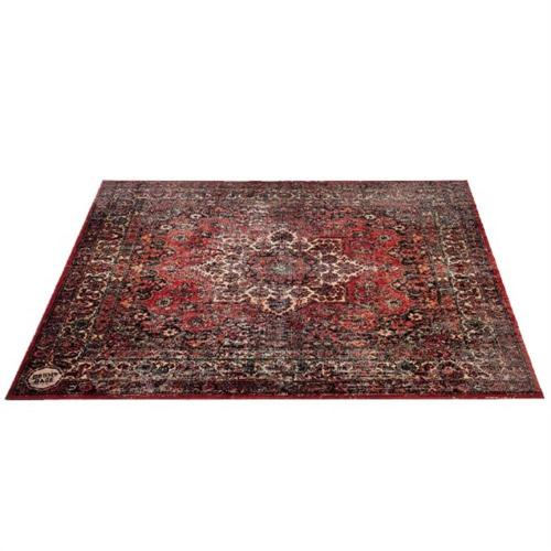 DRUMnBase Persian Stage Mat Original Red 185 x 160cm