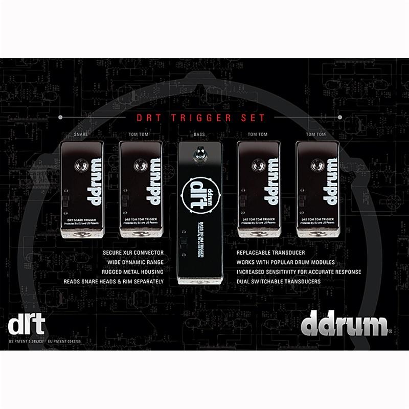 Ddrum DRT triggers