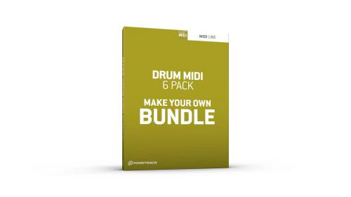 Drum MIDI 6 Pack Bundle