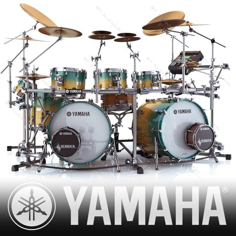 Yamaha har flytta in hos oss