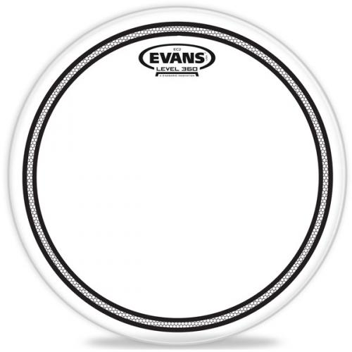 "13"" EC2 Snare coated/frosted, Evans"