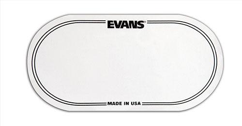 Evans Bass Drum Patch dubbel