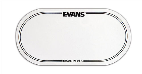 Evans Bass Drum Patch dubbel