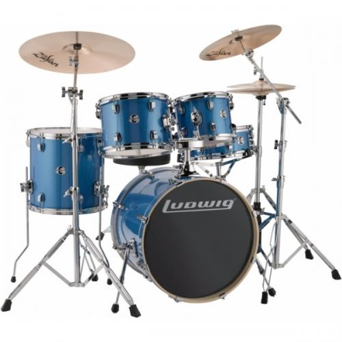 "Ludwig Element Evolution 20"" inkl. hardware - Blue Sparkle"