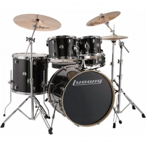 "Ludwig Element Evolution 22"" inkl. hardware - Black Sparkle"