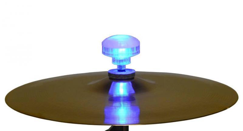 FireBallz - ljuseffekter till dina cymbaler