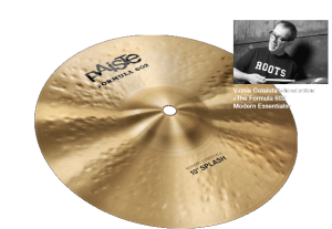 "10"" Formula 602 Modern Essentials Splash, Paiste"
