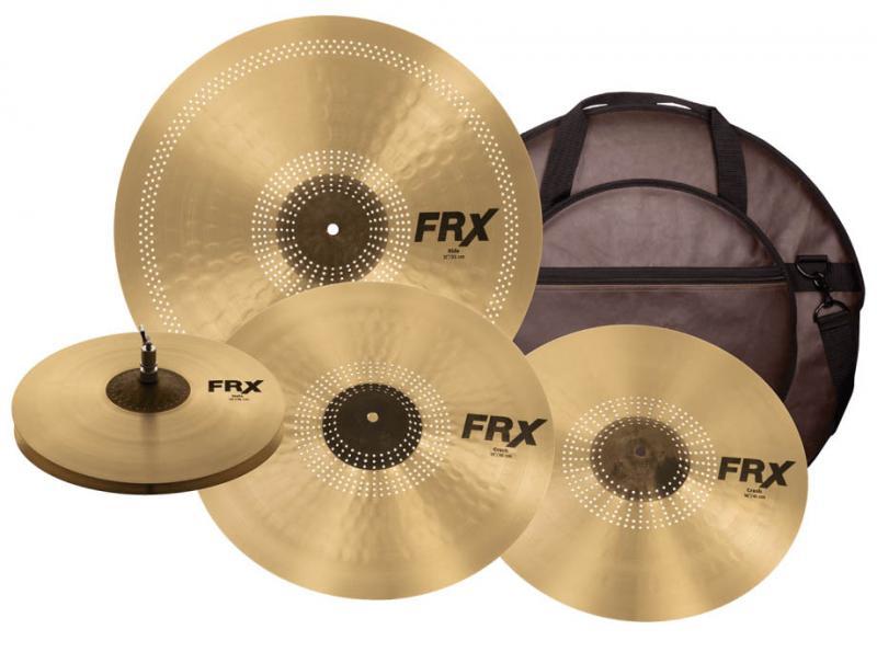 "FRX Performance Set 14""HATS,16""+18""CRASH,21""RIDE W/BA"
