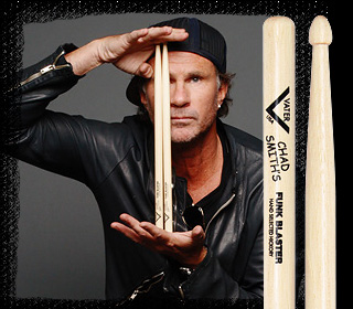 Chad Smith - Funk blaster, Signature, Vater