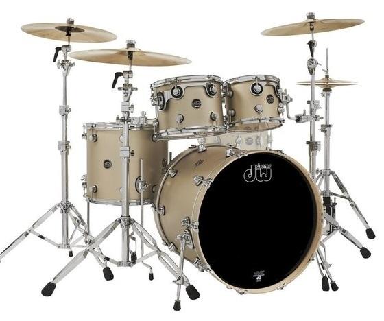 Drum Workshop Shell set Performance Lacquer Gold Mist