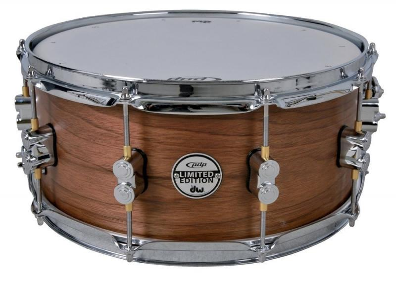 """Ltd. Edition Maple/Walnut, 14x8"""", PDP by DW Snare Drum"""