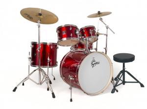 Gretsch Drum set Energy, Red
