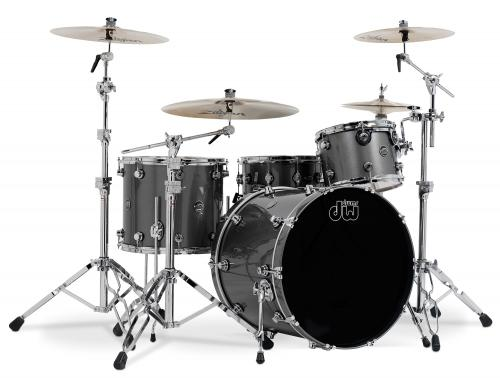 DW Performance, Gun Metal Metallic - 4-delars set