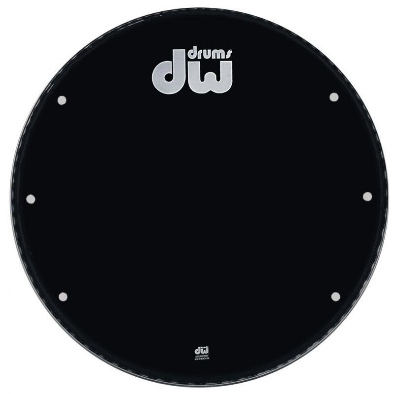 "DW Bass drum head Ebony 22"" GB-22K"