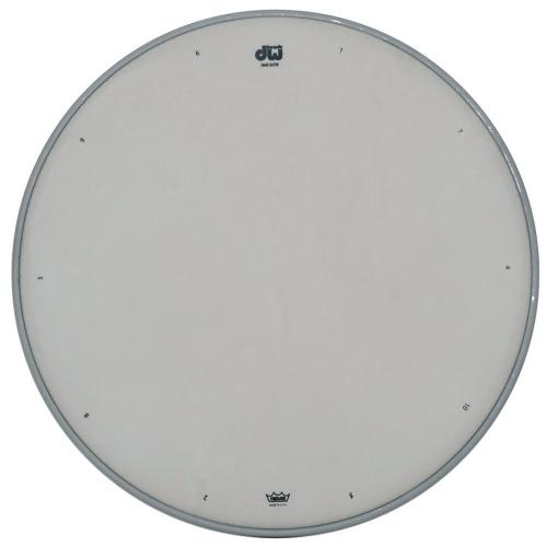 "DW Snare drum head White coated 10"" CW-10"