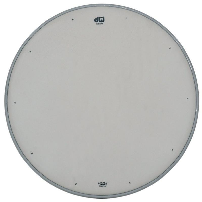 """DW Snare drum head White coated 14"""" CW-14"""