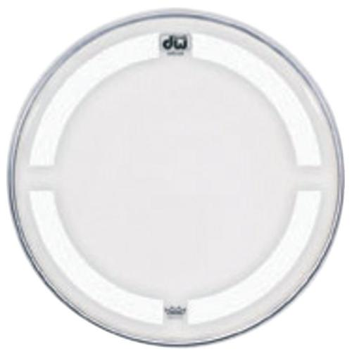 "DW Bass drum head Coated Clear 16"" CC-16K"