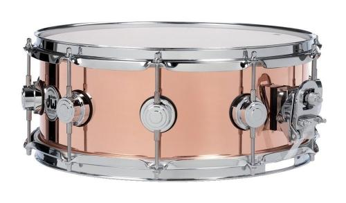DW Snare Drum Copper 14x4""