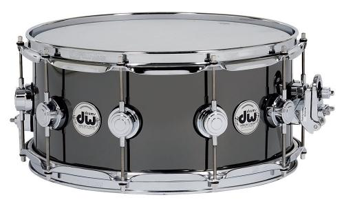 DW Snare Drum Yellow brass 14x5,5""