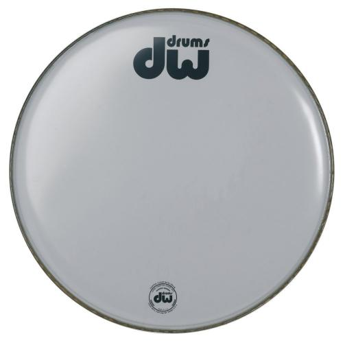 "DW Bass drum head White coated 16"" CW-16K"