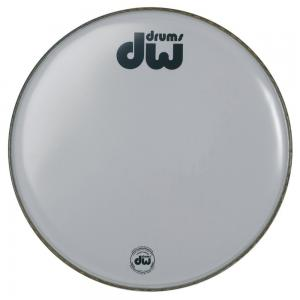 """DW Bass drum head White coated 16"""" CW-16K"""