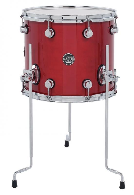 DW Floor Tom Performance Lacquer Natural Lacquer