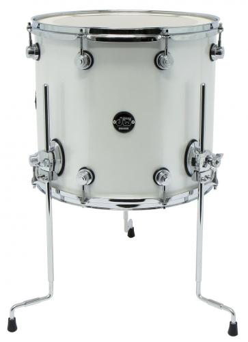 DW Floor Tom Performance Lacquer Candy Apple Red