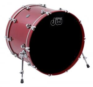 DW Bass Drum Performance Lacquer Candy Apple Red