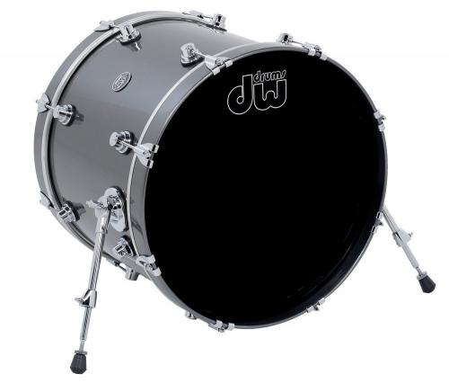 DW Bass Drum Performance Lacquer Ebony Stain