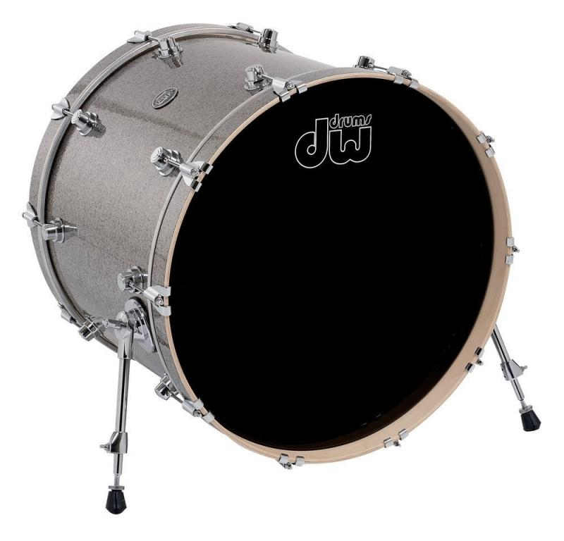 DW Bass Drum Performance Titanium Sparkle