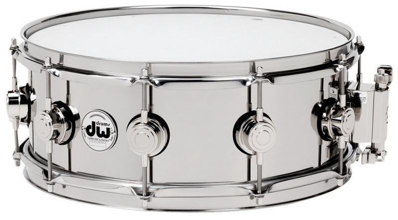 DW Snare Drum Stainless Steel 14x6,5""