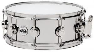 """DW Snare Drum Stainless Steel 13x5,5"""""""