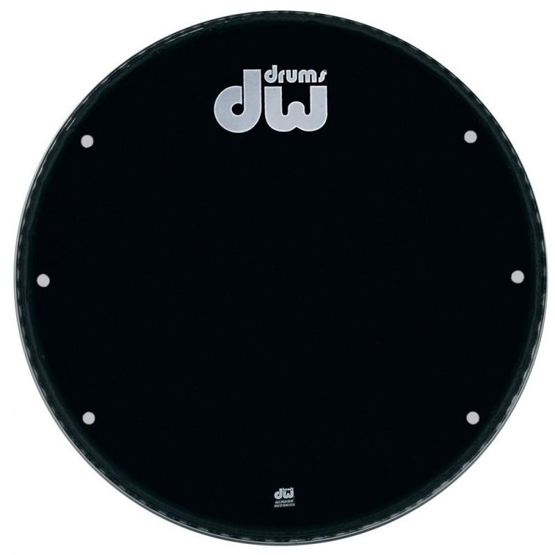 "DW Bass drum head Ebony 28"" GB-28K"