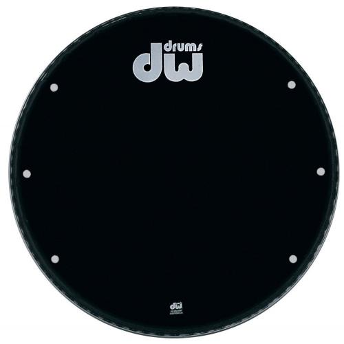 "DW Bass drum head Ebony 16"" GB-16K"