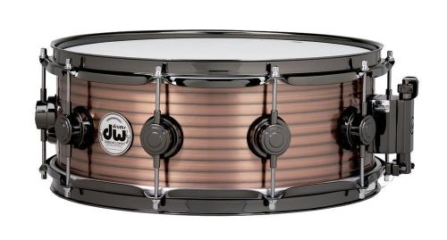 DW Snare Drum Vintage Copper over Steel 14x6,5""